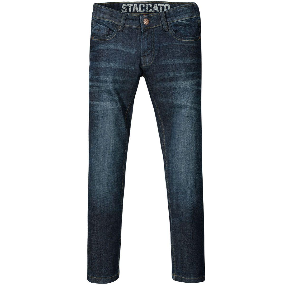 Jungen Jeans JONAS Regular Fit - Blue Denim