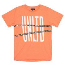 ATTENTION T-Shirt DONT STAND STILL - Neon Fire