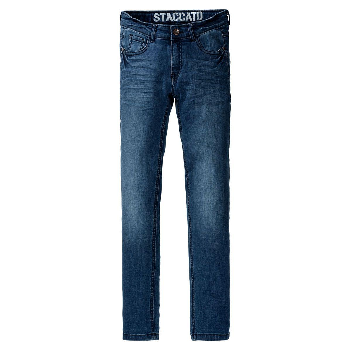 Jungen Jeans - HENRI Slim Fit - Mid Blue Denim