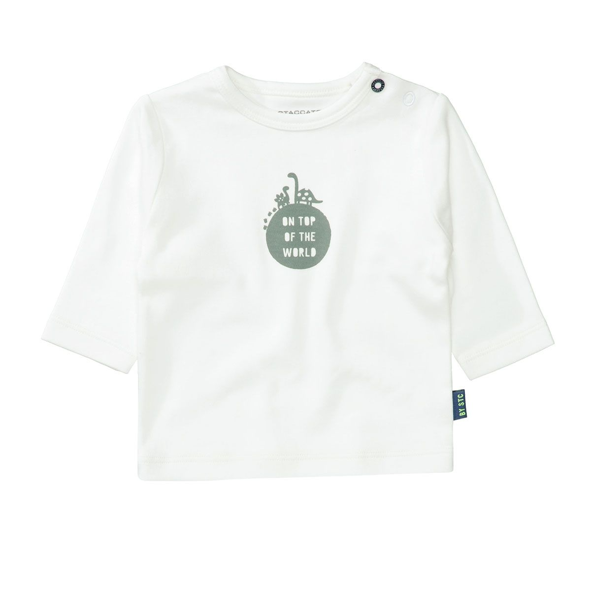 ORGANIC COTTON Langarmshirt TOP OF THE WORLD - Offwhite