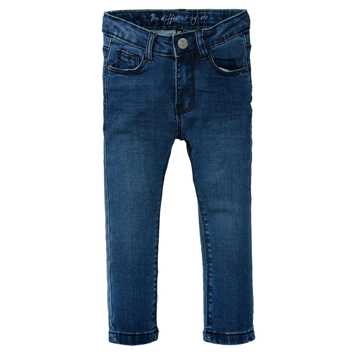 ORGANIC COTTON Skinny Jeans Slim Fit - Mid Blue Denim