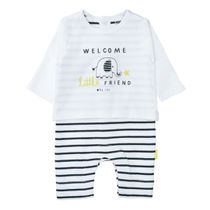ORGANIC COTTON Overall WELCOME - White