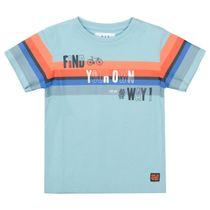 T-Shirt OWN WAY - Light Ocean