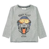 WENDEPAILLETTEN Shirt Tiger - Grey