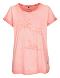 FRY DAY T-Shirt mit Print - Light Melon